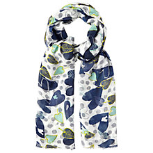 Buy White Stuff Leafy Spot Print Scarf, Multi Online at johnlewis.com