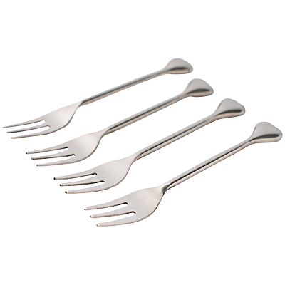 Just Slate Heart Pastry Forks