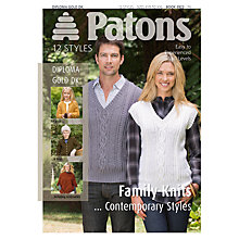 Buy Patons DK Contemporary Family Knit Leaflet Online at johnlewis.com