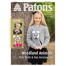 Buy Patons Yarn Woodland Animal Knits Leaflet Online at johnlewis.com