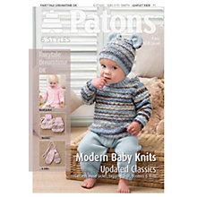 Buy Patons Yarn Modern Baby Knits Leaflet Online at johnlewis.com