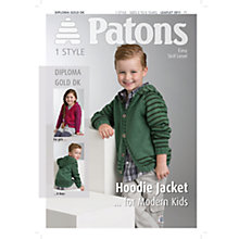 Buy Patons DK Jack and Jill Baby Cardigan Knitting Pattern Online at johnlewis.com