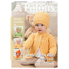 Buy Patons Yarn Modern Baby Texture Knitting Pattern Online at johnlewis.com