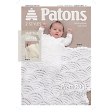 Buy Patons Yarn Pram Rug Crochet Pattern Online at johnlewis.com