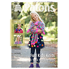 Buy Patons Yarn Fun Kids Knitting Pattern Online at johnlewis.com