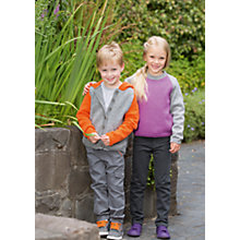 Buy Patons Yarn Kids Fun Stripe Sweatshirt Knitting Pattern Online at johnlewis.com