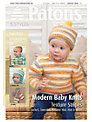 Patons Yarn Modern Baby Knitting Pattern