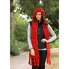 Buy Patons Ribby Scarf, Slouchy Beany and Pixie Hood Knitting Pattern, 03939 Online at johnlewis.com