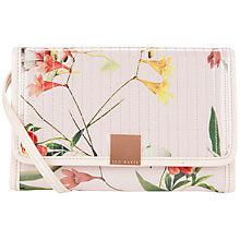 Buy Ted Baker Botena Botanical Bloom iPad Mini Bag, Pale Pink Online at johnlewis.com