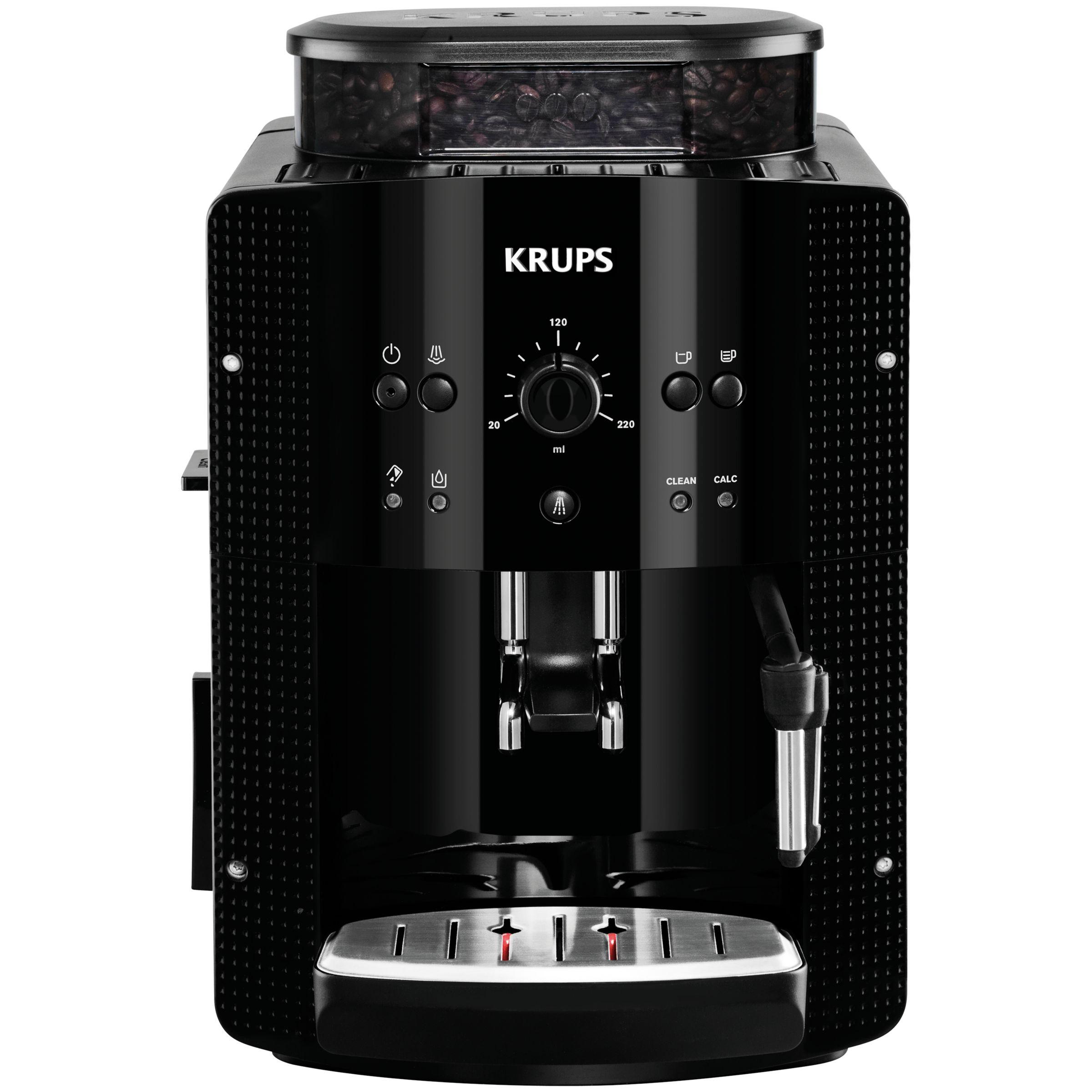 Krups KRUPS EA8108 Espresseria Bean-to-Cup Coffee Machine, Black