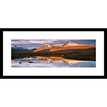 Buy Ian Cameron - Above And Beyond, Framed Print, 104 x 49cm Online at johnlewis.com