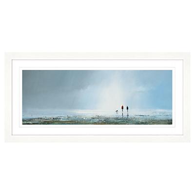 Michael Sanders – Passing Storm Framed Print, 107 x 52cm