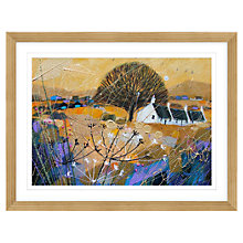 Buy Deborah Phillips - Golden Glow Near Glamis Framed Print, 87 x 67cm Online at johnlewis.com