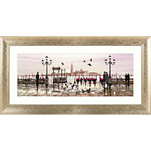 Buy Venice: End Of Day Framed Print, 112 x 57cm Online at johnlewis.com