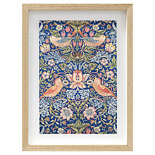 Buy William Morris - Strawberry Thief Framed Print 38 x 28cm Online at johnlewis.com