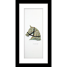 Buy Daisy Maison - Horse Framed 3D Cut Laser-Print, 23 x 43cm Online at johnlewis.com