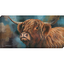 Buy Dina Perejogina - Highland Heifer, 120 x 60cm Online at johnlewis.com