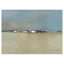 Buy Gabriella Benovolenza - Distant Town Print on Canvas, 100 x 70cm Online at johnlewis.com