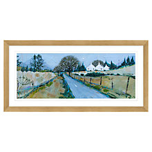 Buy Deborah Phillips - Road To Amulree Framed Print, 107 x 52cm Online at johnlewis.com
