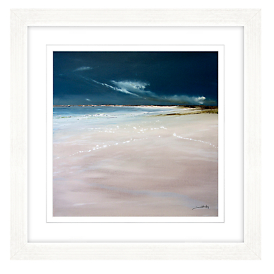 Jane Skingley – Indigo Skies Framed Print, 57 x 57cm