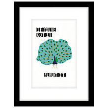 Buy Cartwheels and Conkers - Flaunt It Framed Print, 43 x 33cm Online at johnlewis.com