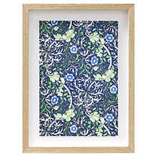 Buy William Morris - Seaweed Framed Print, 38 x 28cm Online at johnlewis.com
