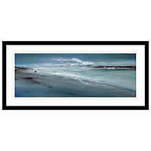 Buy Jane Skingley - Stormy Inlet Framed Print, 107 x 52cm Online at johnlewis.com