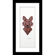 Buy Daisy Maison - Fox Framed 3D Laser-Cut Print, 23 x 43cm Online at johnlewis.com