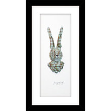 Buy Daisy Maison - Hare Framed 3D Laser-Cut Print, 23 x 43cm Online at johnlewis.com