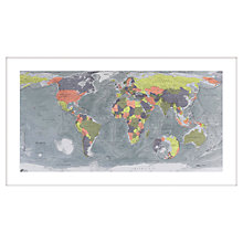 Buy Future Maps - Large Classic World Map, 76 x 134cm Online at johnlewis.com