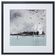 Buy John Lewis Croft Collection, Naomi Barber - Mist Framed Print, 40 x 40cm Online at johnlewis.com