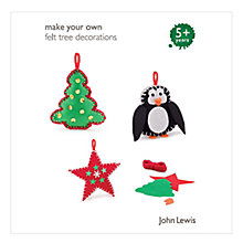 Buy John Lewis Make Your Own Tree Decorations Online at johnlewis.com