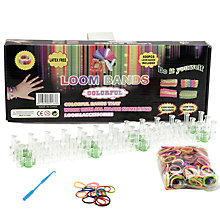 Buy Colourful Loom Band Kit Online at johnlewis.com