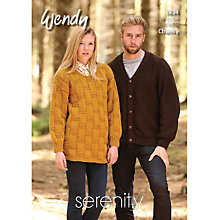 Buy Wendy Family Collection Knitting Pattern, 5833 Online at johnlewis.com