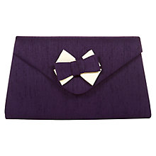 Buy Jacques Vert Trim Bag, Damson Online at johnlewis.com