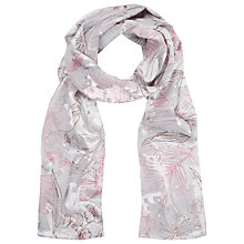 Buy Jacques Vert Devore Scarf, Grey Online at johnlewis.com
