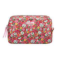 Buy Cath Kidston Mews Ditsy Make Up Bag, Red Online at johnlewis.com