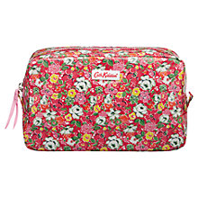 Buy Cath Kidston Mews Ditsy Medium Makeup Bag, Red Online at johnlewis.com