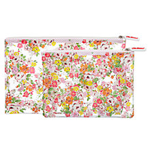 Buy Cath Kidston Clifton Rose Wash Bag Set, White Online at johnlewis.com