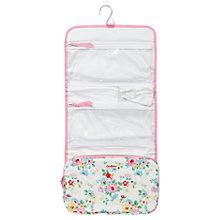 Buy Cath Kidston Bright Daisies Quilted Roll Washbag, Pink Online at johnlewis.com