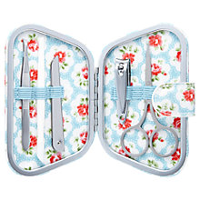 Buy Cath Kidston Provence Rose Manicure Set, Blue Online at johnlewis.com