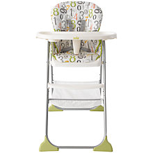 Buy Joie Baby Mimzy Snacker Highchair 123 Online at johnlewis.com