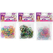 Buy Designer Loom Bands, Pack of 300, Assorted Online at johnlewis.com