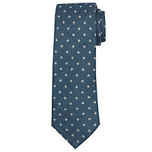 Buy John Lewis Made In Italy Dot Print Wool Tie Online at johnlewis.com