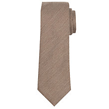 Buy John Lewis Made In Italy Plain Woven Tie Online at johnlewis.com