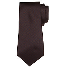 Buy John Lewis Made In Italy Circle Print Silk Tie Online at johnlewis.com