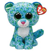 Buy Ty Beanie Boo Leona Leopard Soft Toy, 16cm Online at johnlewis.com