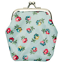 Buy Cath Kidston Ditsy Print Clasp Mini Purse, Blue/Multi Online at johnlewis.com