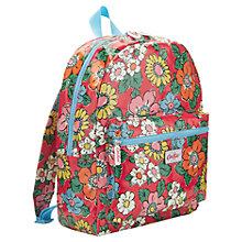 Buy Cath Kidston Padded Patchwork Rucksack, Red Online at johnlewis.com