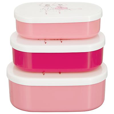 Cath Kidston Ballerina Snack Boxes, Set of 3